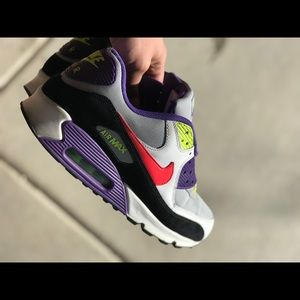 Nike Shoes - Air Max 90 sz 11 purple volt